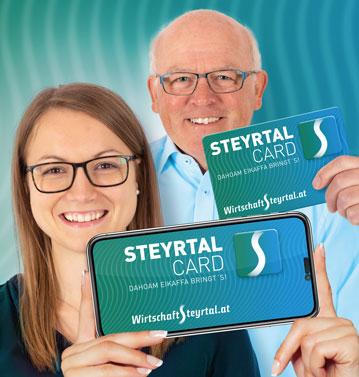 STEYRTALCARD - eine Vorteilskarte fürs ganze Steyrtal.