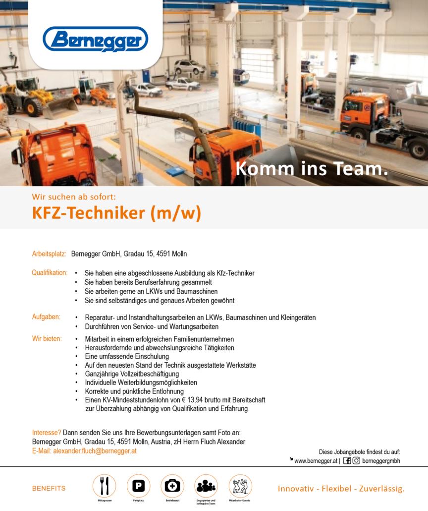 Stelleninserat KFZTechniker2 1