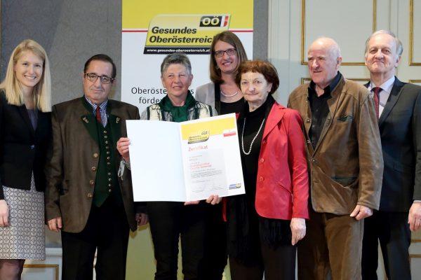 Auszeichnung für fünf Gesunde Gemeinden