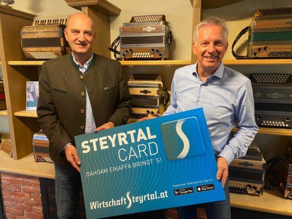 STEYRTALCARD   Steinbach an der Steyr